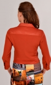 Blouson Roméo Merveilleuses Chili, rock, short, with all the casual codes