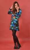 Robe Taxi Girl. Cottage Turquoise